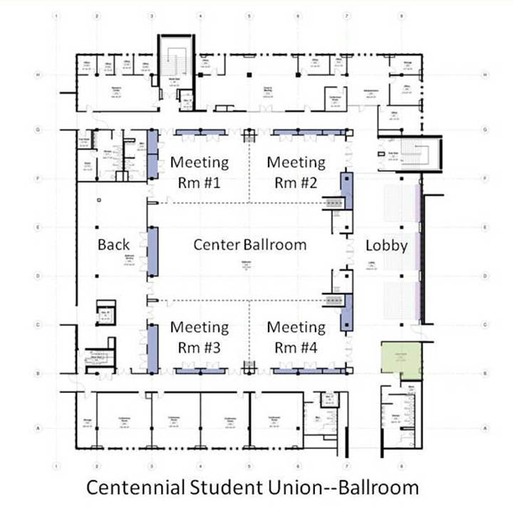 administration building floor plan images